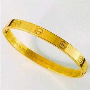 18k GP Charles Revson Aldo Cipullo Love Bracelet